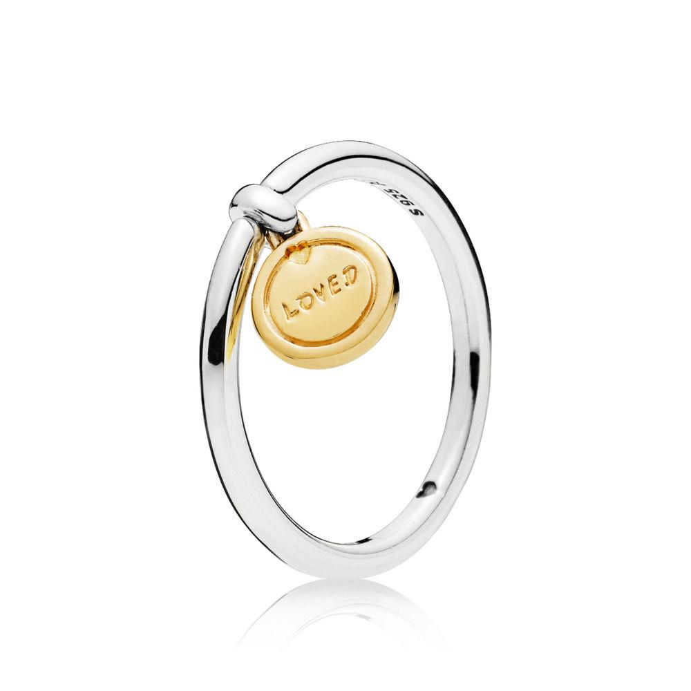 nastro d'amore pandora anello