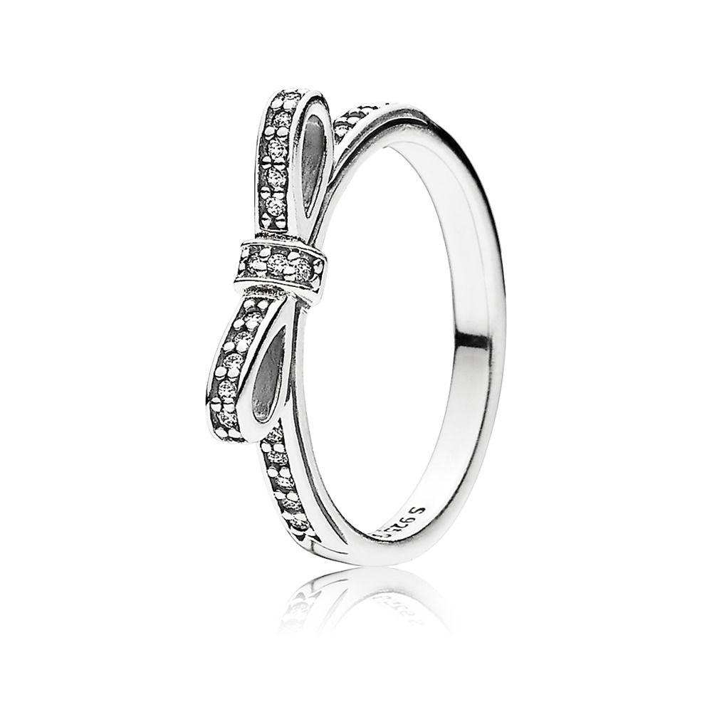 anello pandora a fiocco