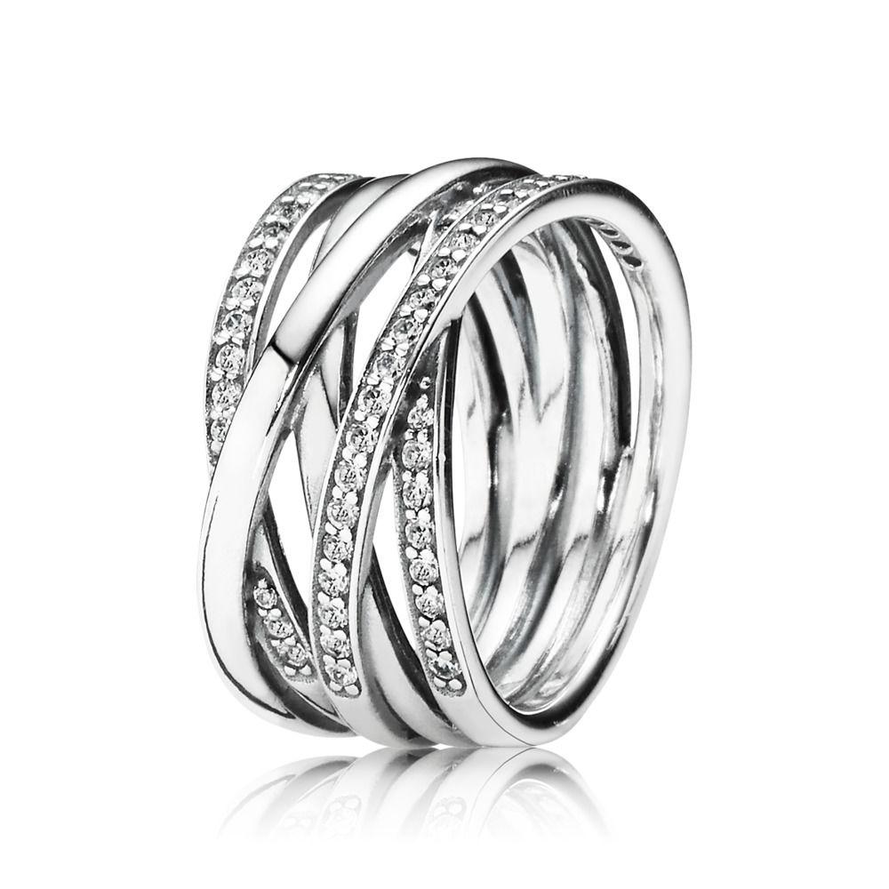 anello fascia donna pandora