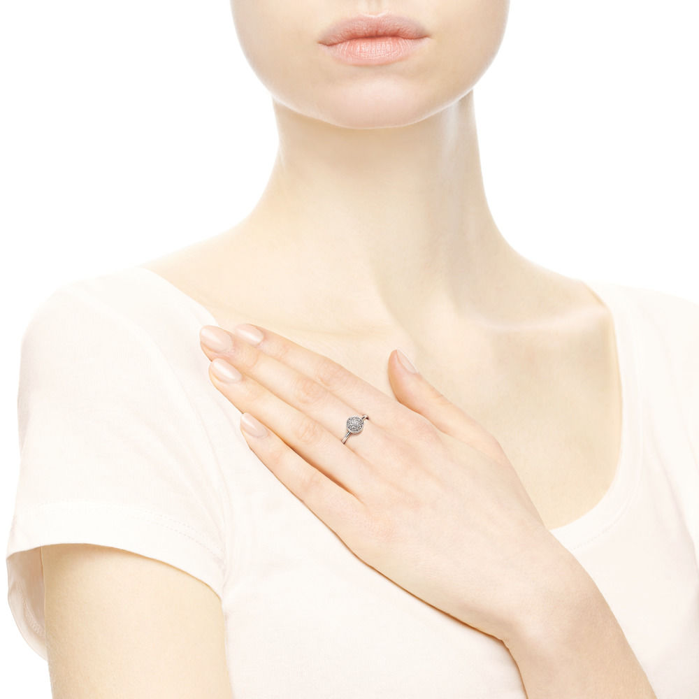 anello gocce d'argento pandora