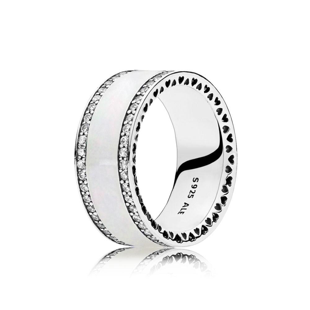anello fascia di cuori pandora