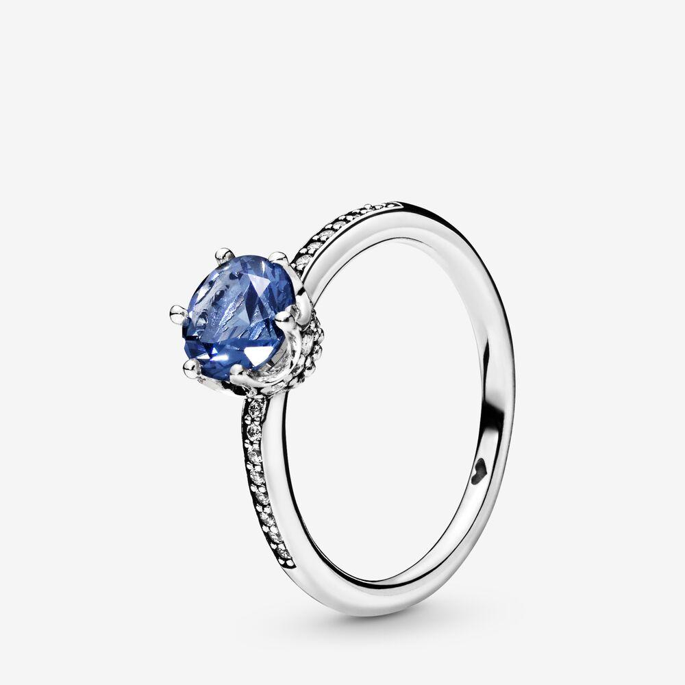 anello pandora blu