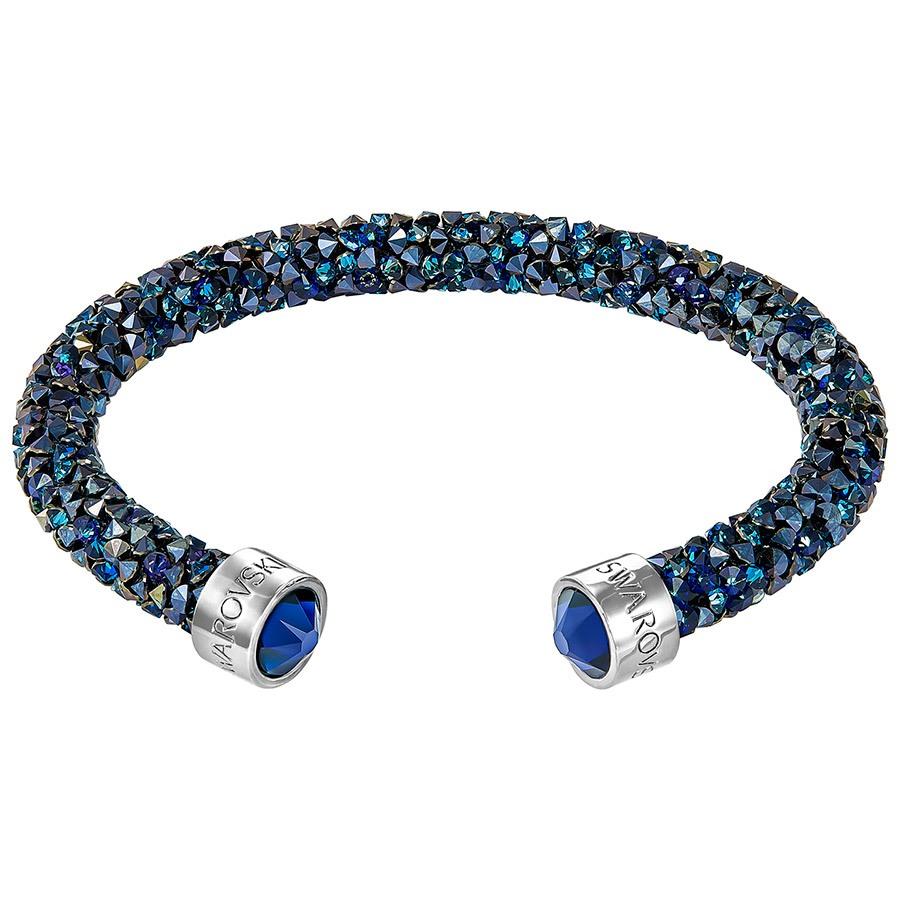 95eff6a48ffd76 Bracciale Rigido Swarovski Crystaldust Blu | Casadei Gioielli