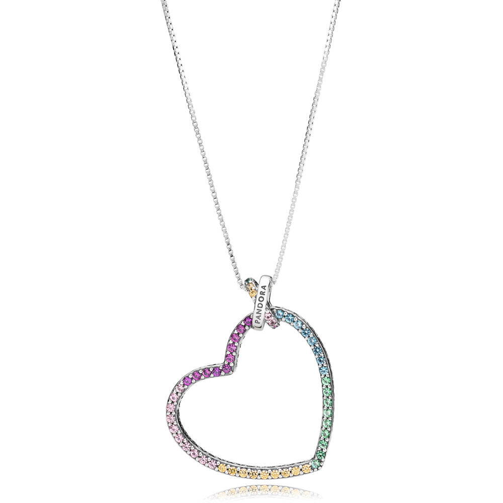 pandora cuore arcobaleno