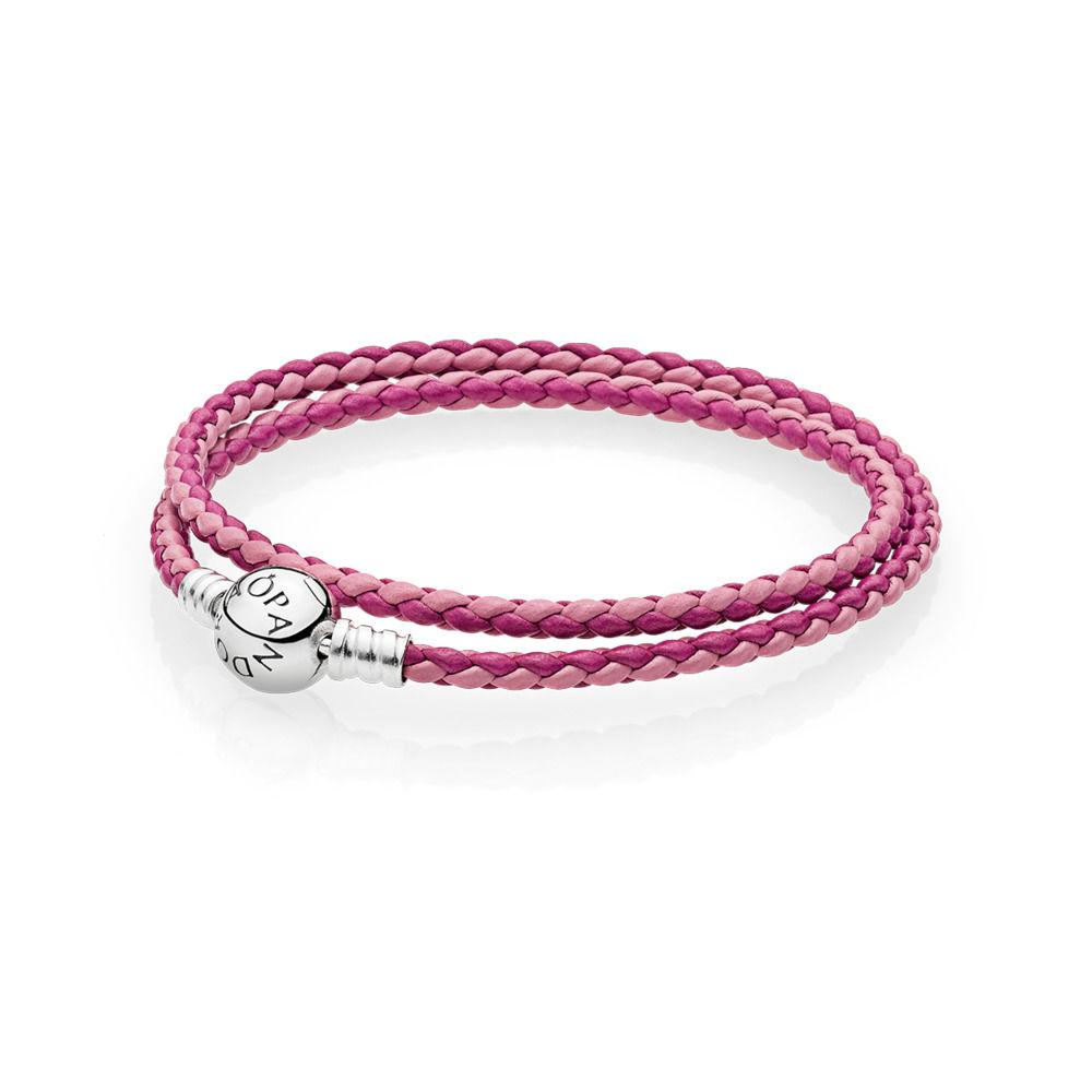 bracciale pandora rosa