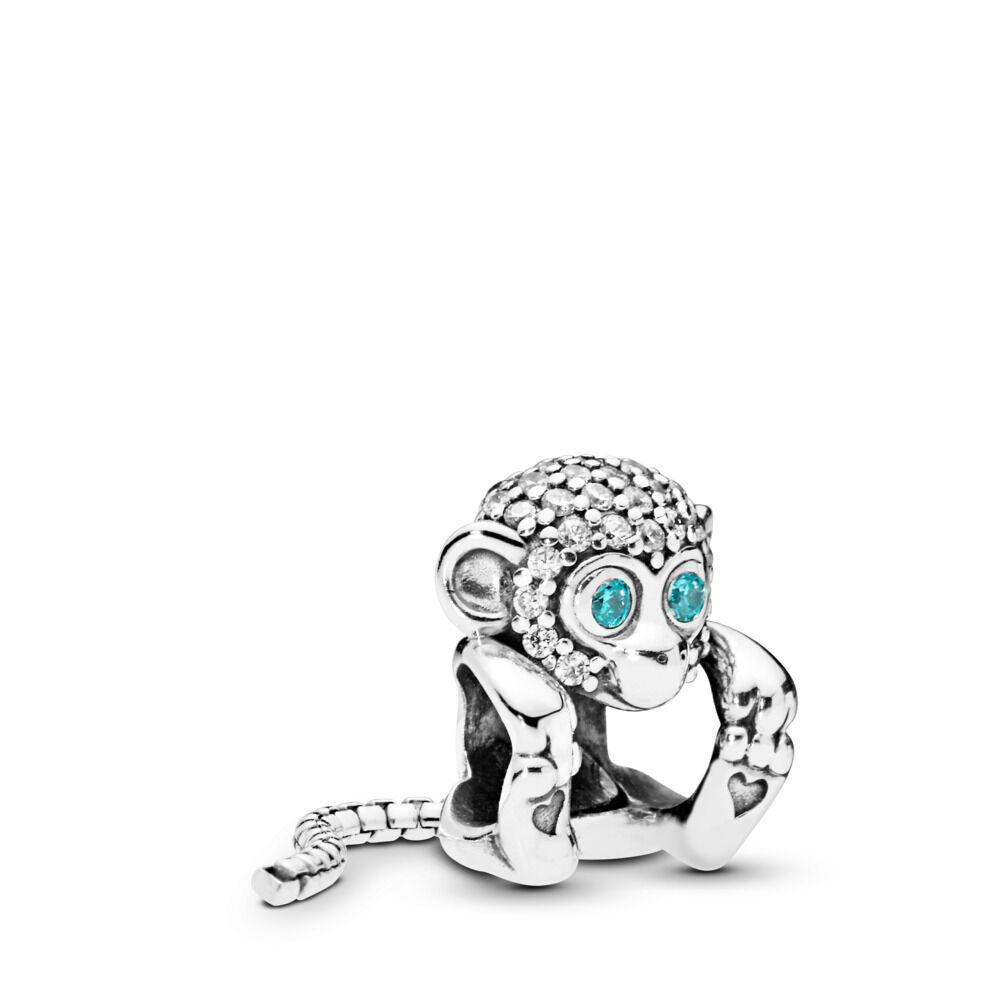 pandora charm scimmia