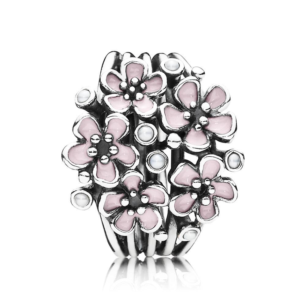 anello pandora bouquet luminoso