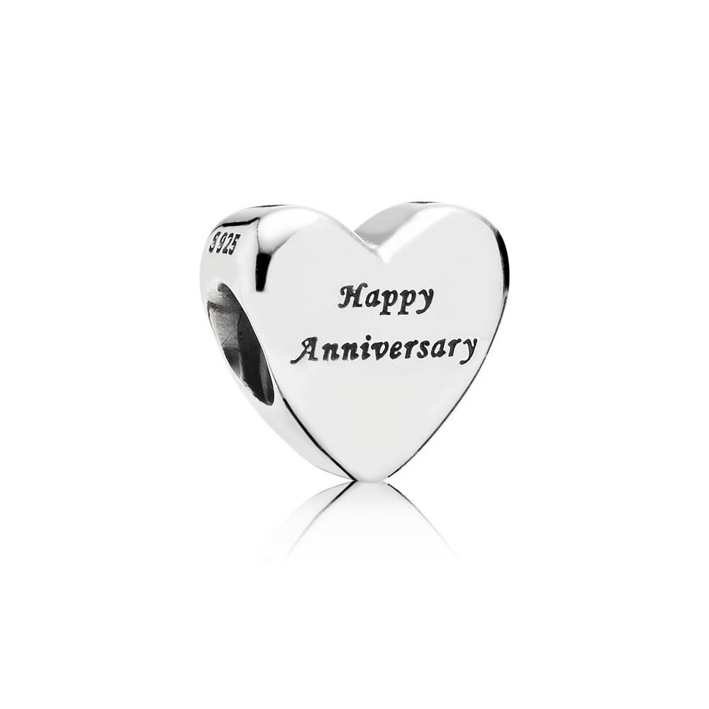 ciondolo pandora 25 anni matrimonio