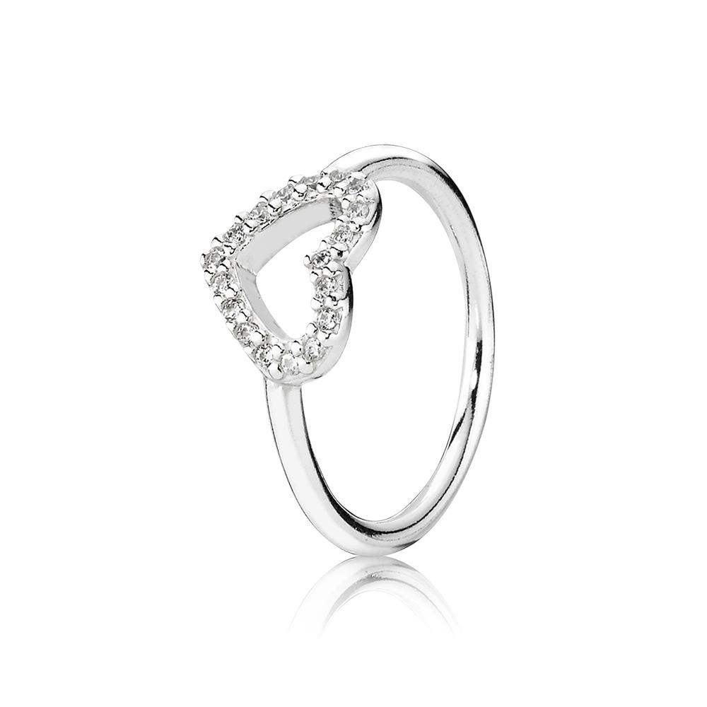 pandora anello a cuore