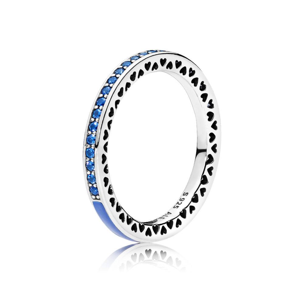 cuori pandora anello
