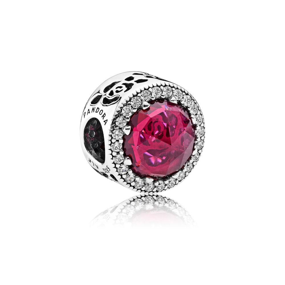 pandora charms rosa