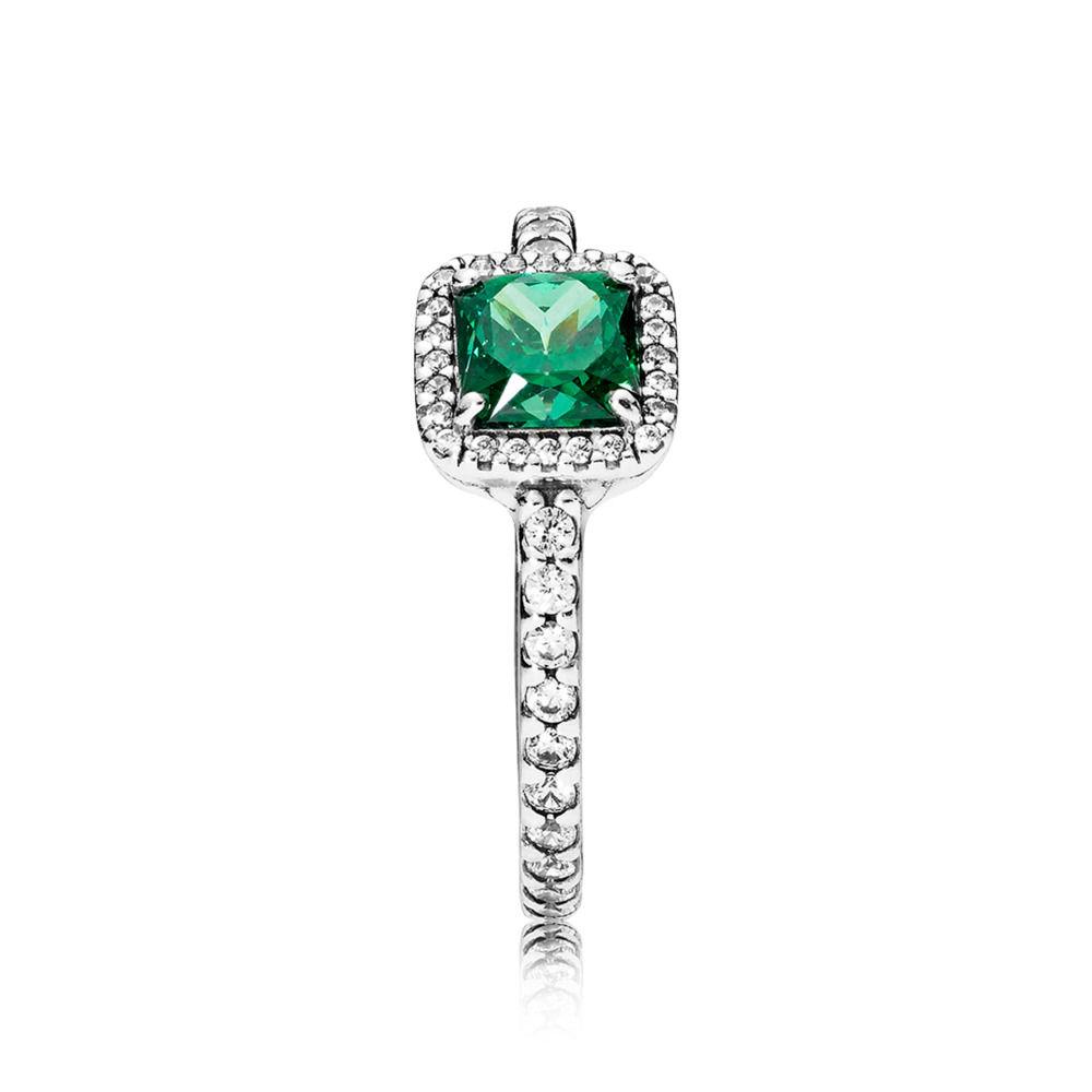 anello pandora pietra verde