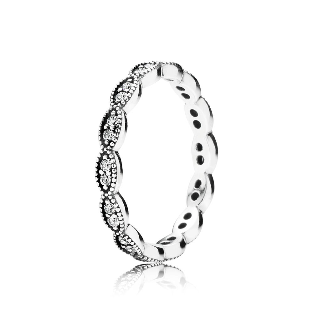 anello pandora foglia