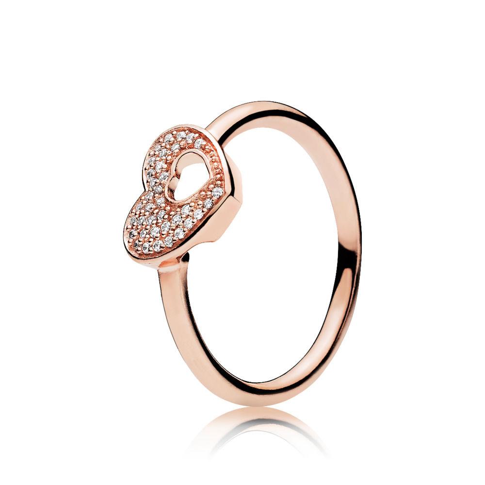 anelli pandora donna cuore
