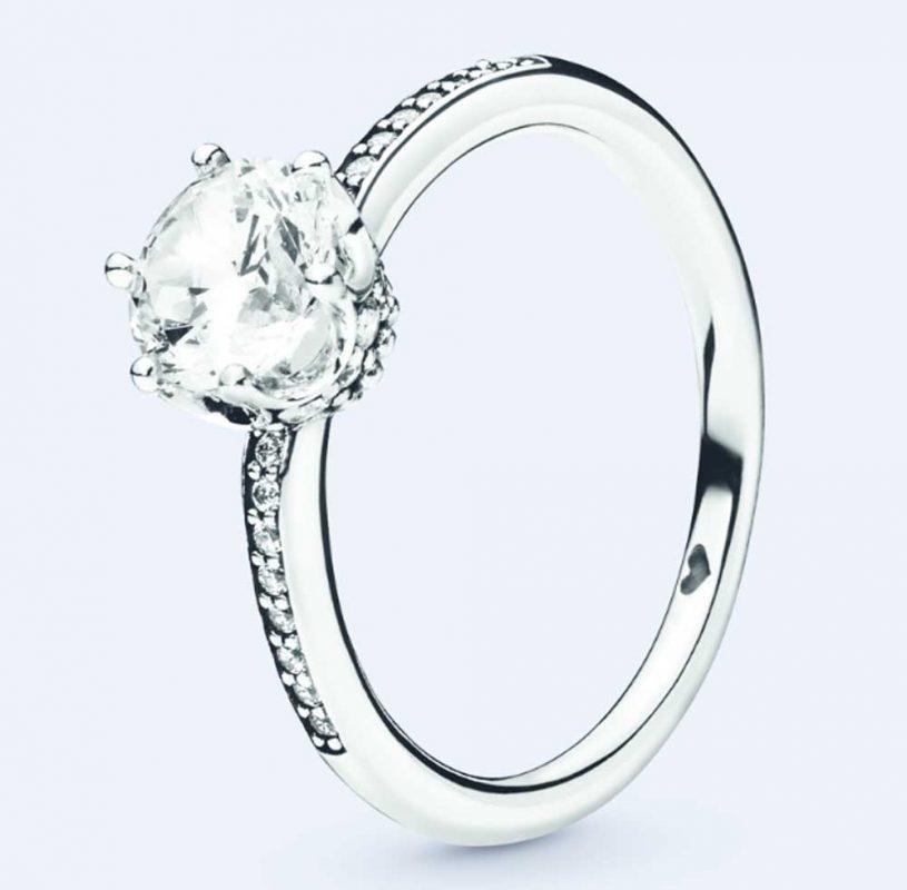 anello pandora foglia costo