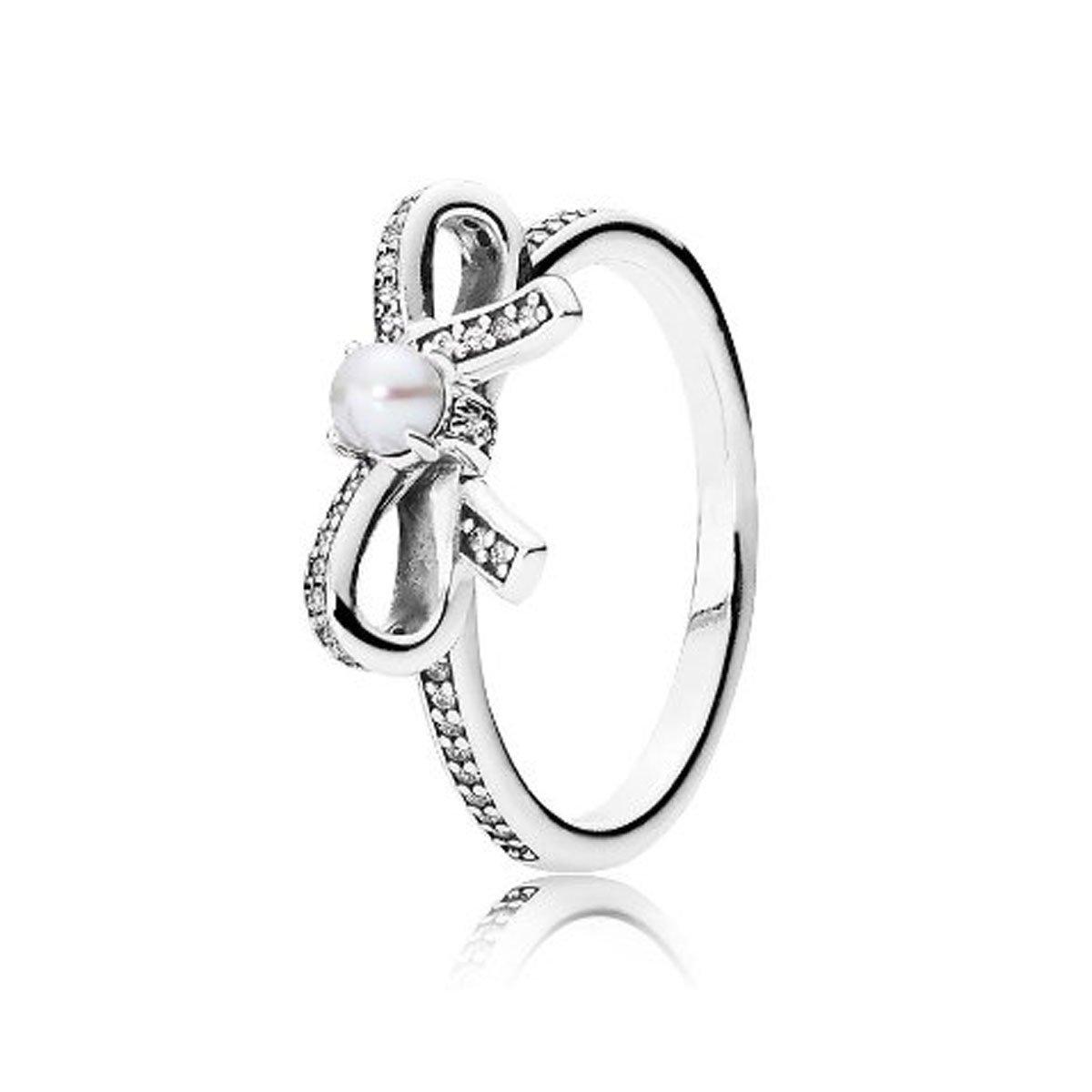 anello pandora con fiocco di neve