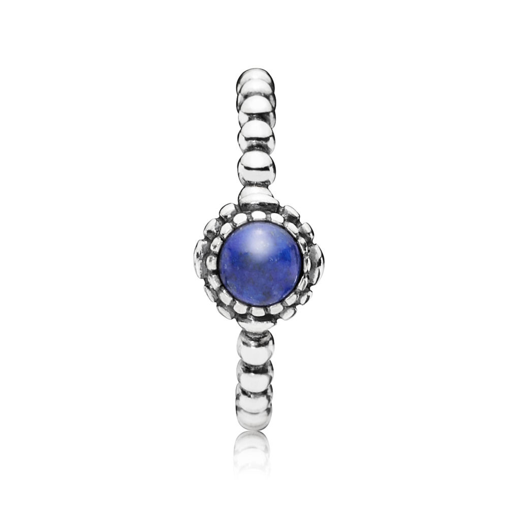 anello pandora con pietra natale
